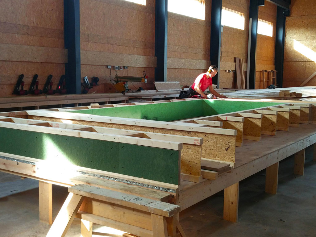 Construction of offsite manufacture panels