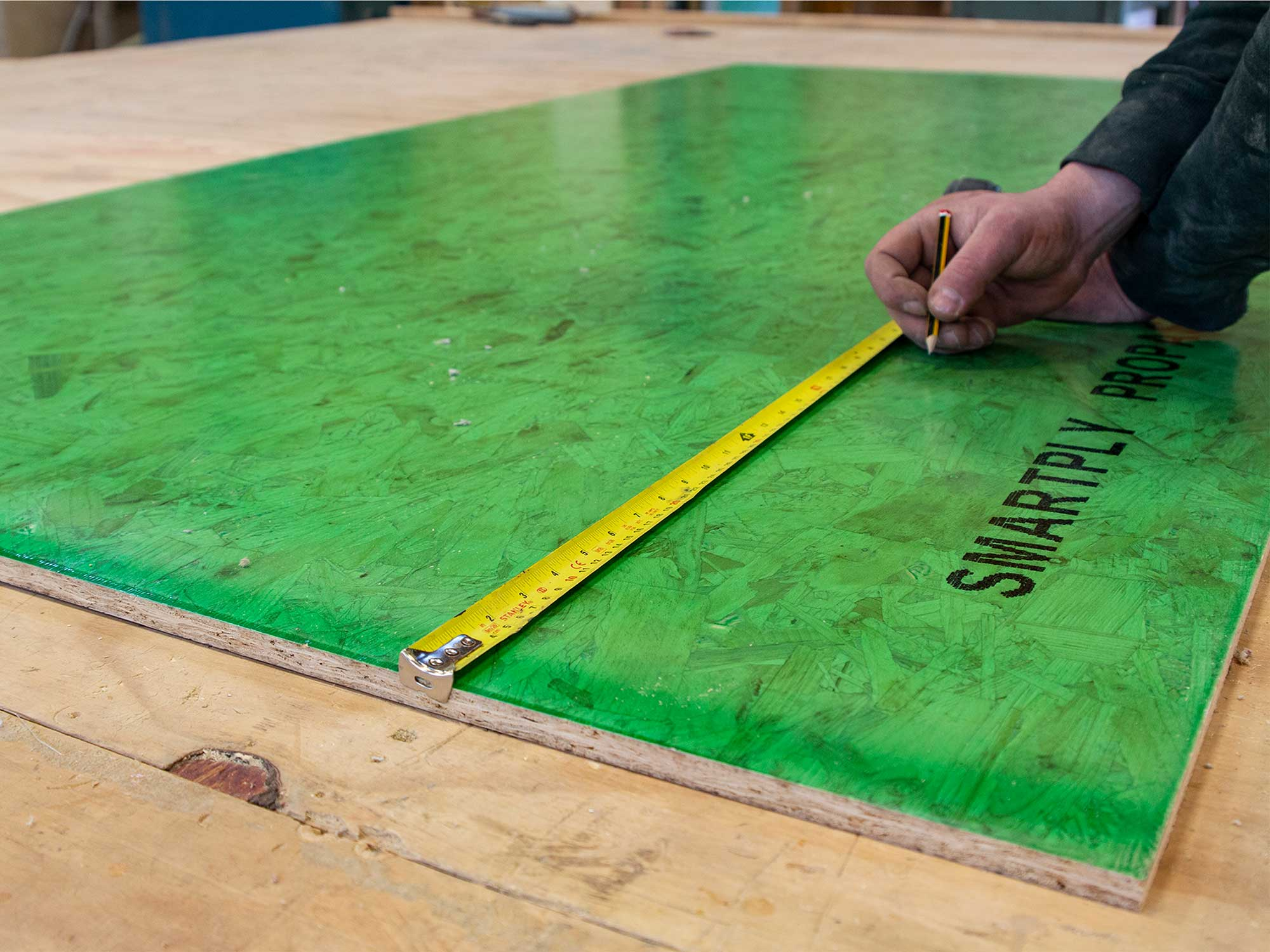 Measuring Smartply for Passive House Projects