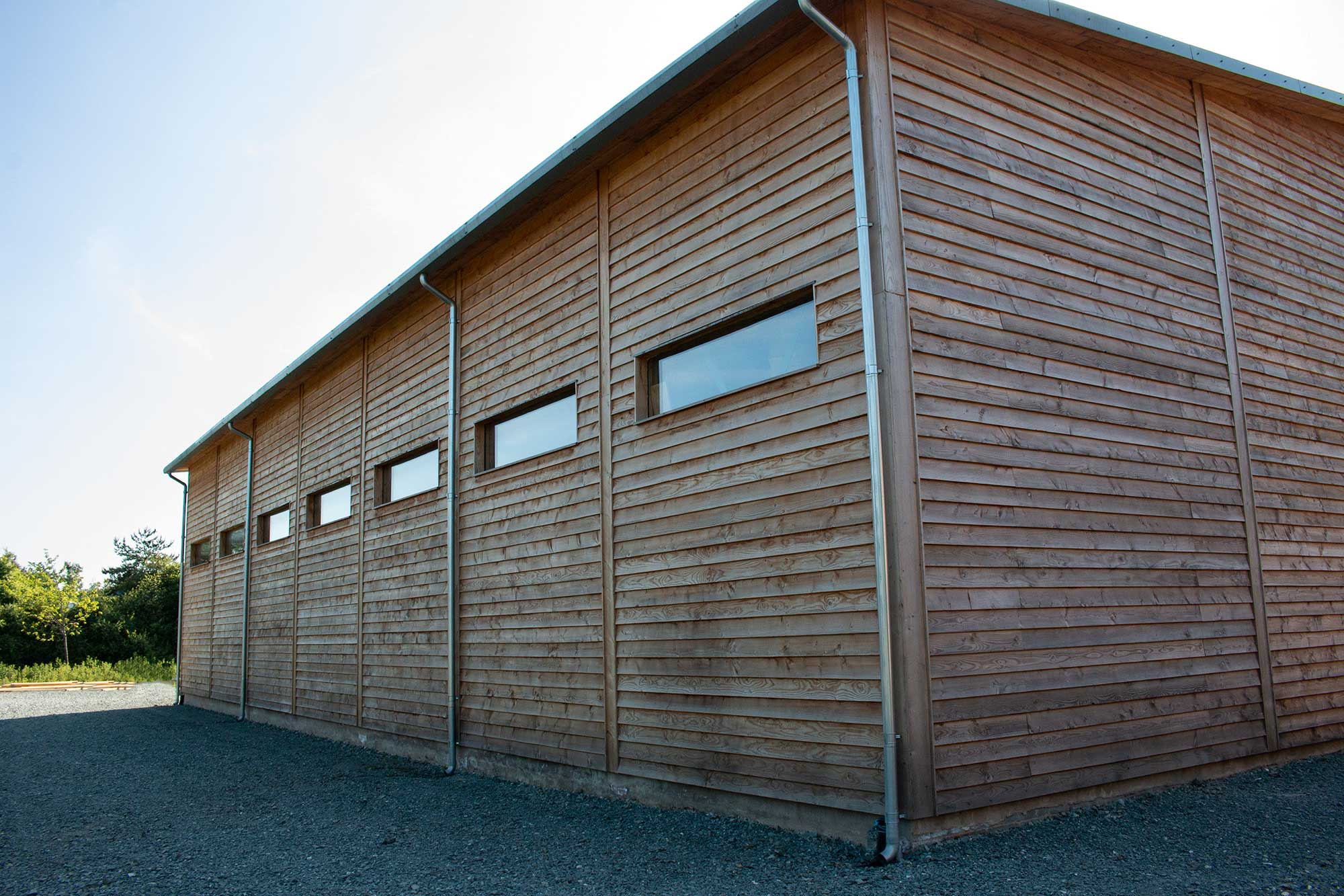 PYC factory manufacturing Passive House buildings